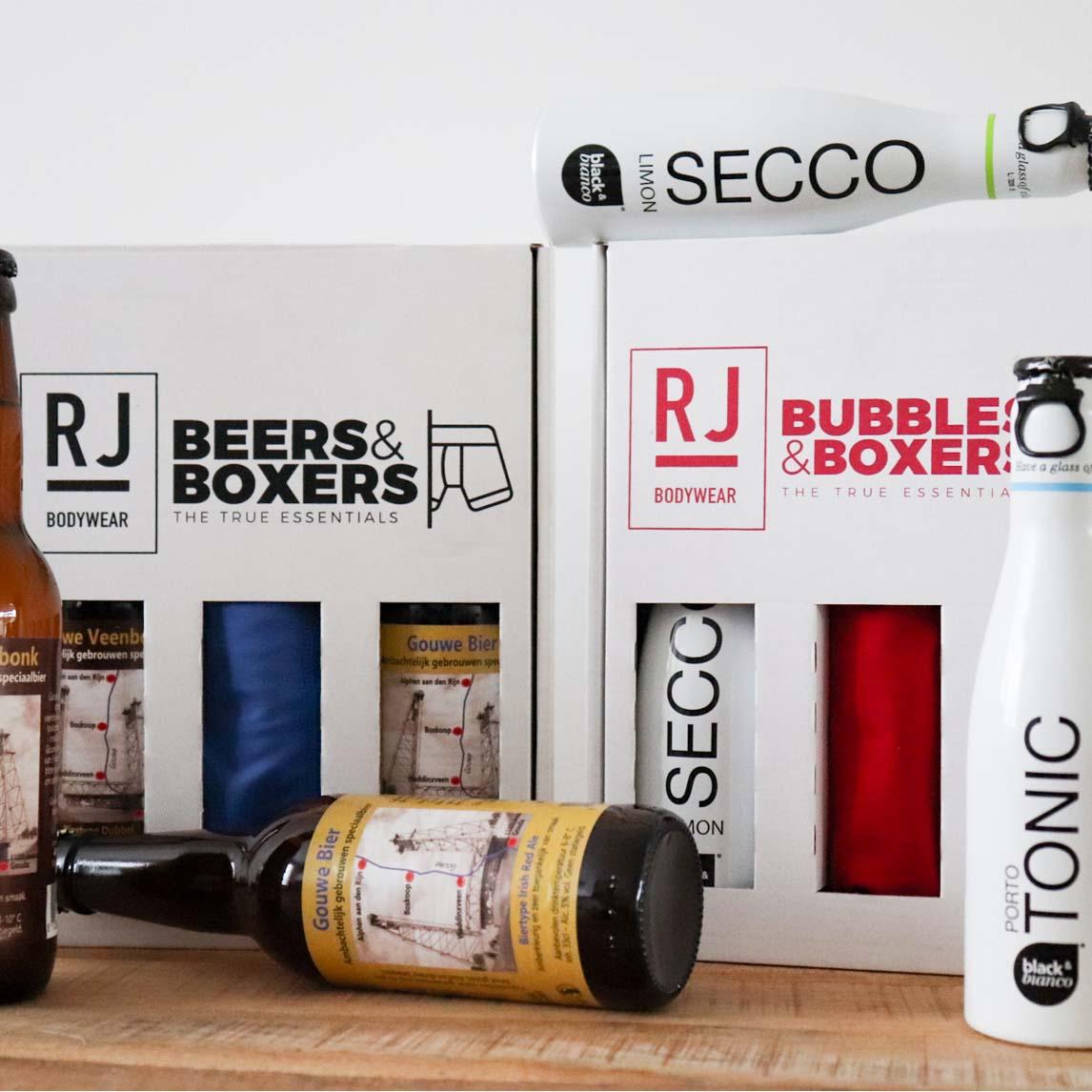 Beers, Bubbels & Boxers