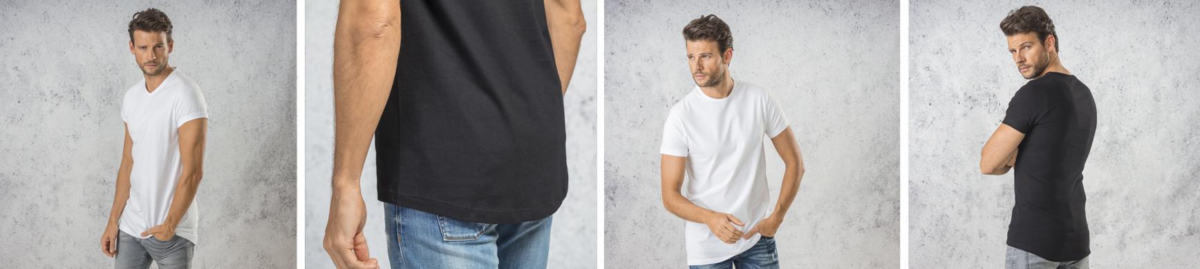 Extra Lange Shirts