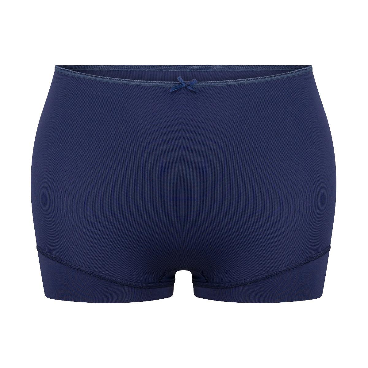 RJ Pure Color Dames Short Extra Hoog Donkerblauw XL