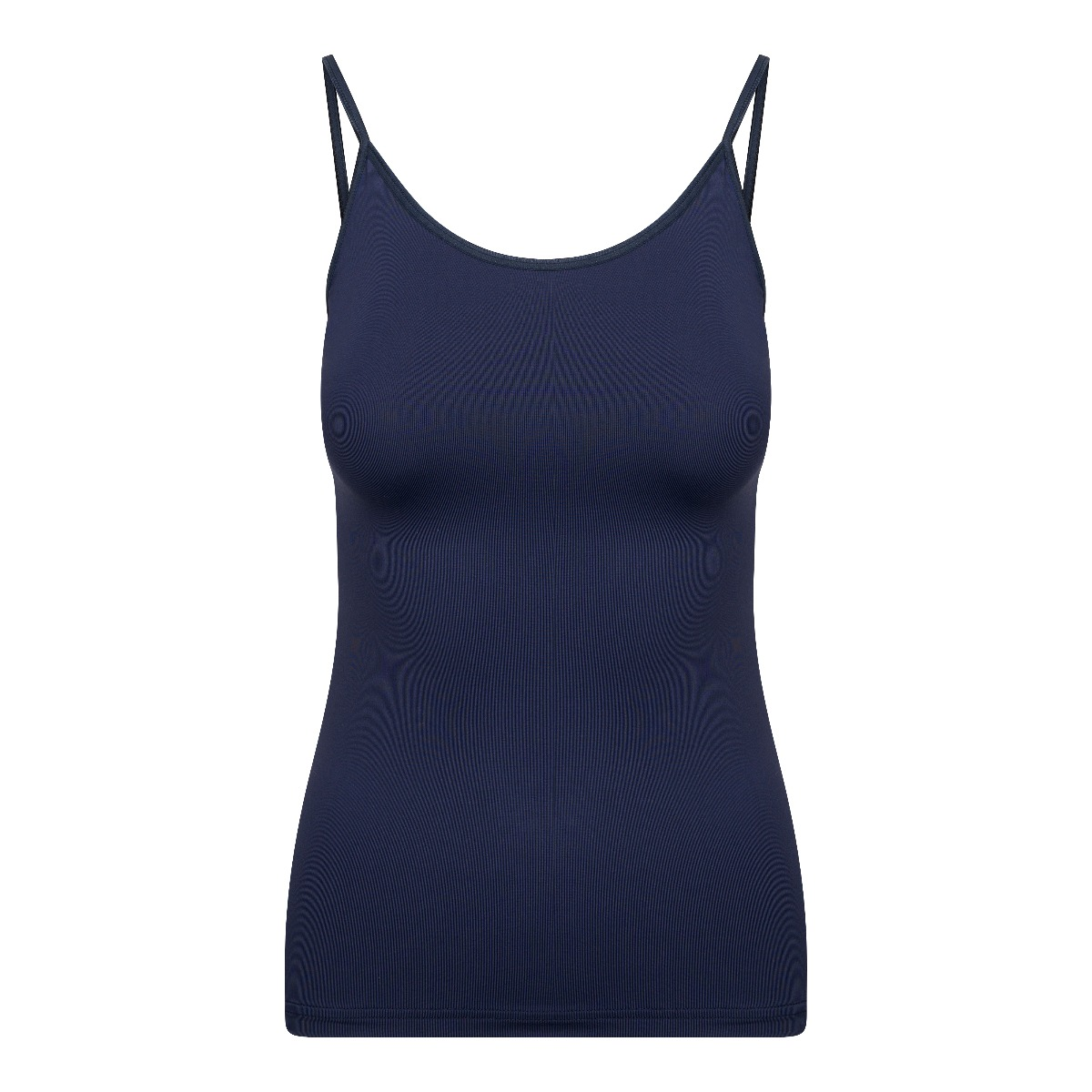 RJ Pure Color Dames Spaghetti Top Donkerblauw XL