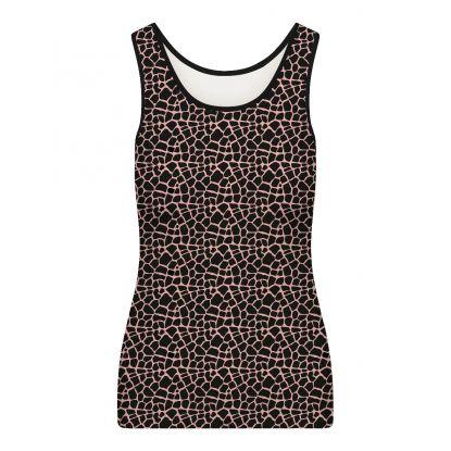 RJ Fashion Dames Hemd 'Walk Your Giraffe once a Day'