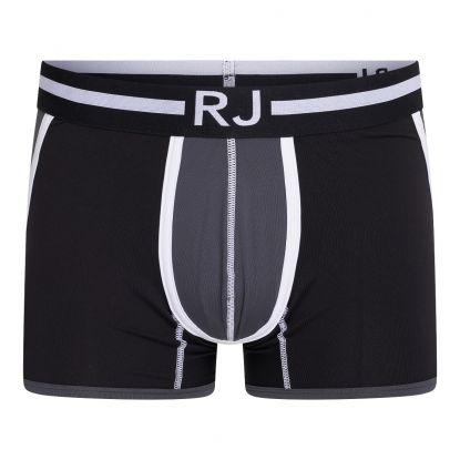 RJ Pure Color Heren Boxershort 'Happy Balls' Grijs