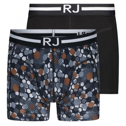 RJ Everyday Fashion 2-Pck Boxershort Combi Hexagon