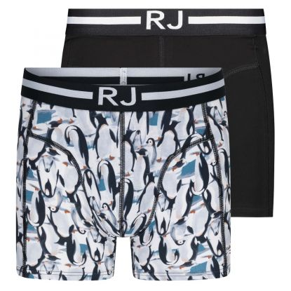 RJ Everyday Fashion 2-Pck Boxershort Combi Pinguins