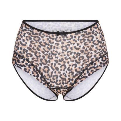 RJ Pure Color Dames Maxi Brief Cheetah