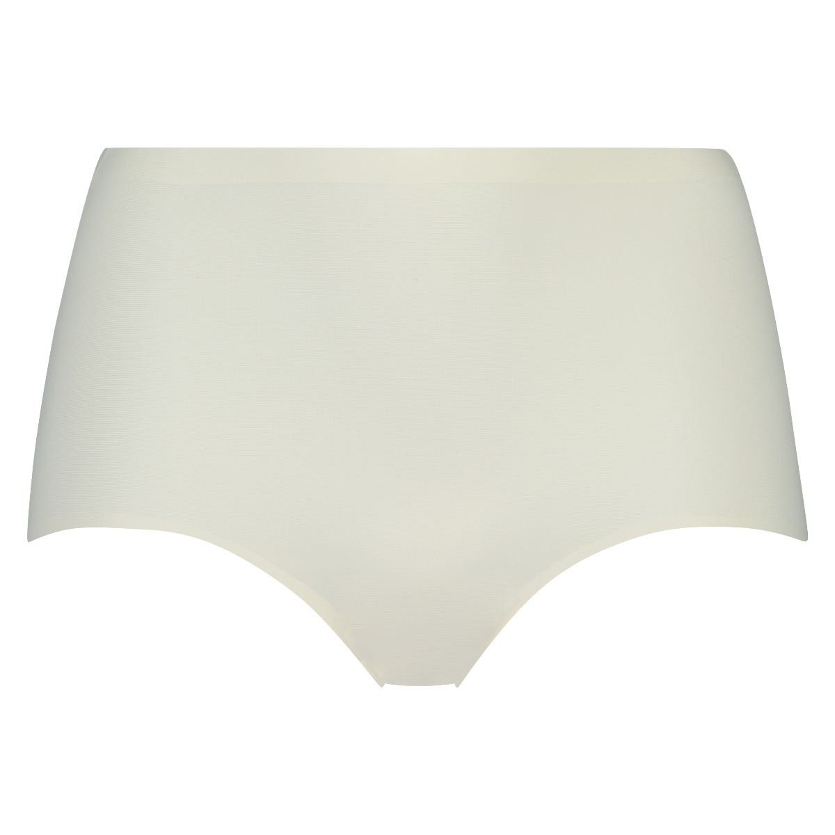 RJ Pure Color Invisible Dames Taille Slip Ivoor L