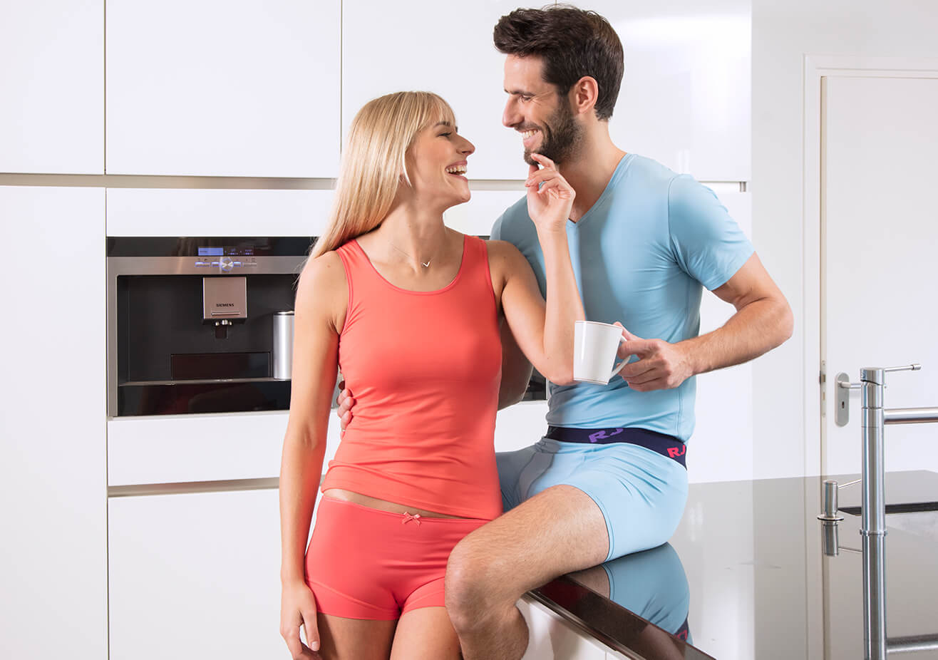 RJ Bodywear Pure Color collectie